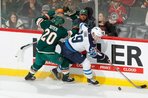 Winnipeg Jets v Minnesota Wild