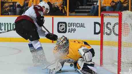 Predators vs Avalanche Playoffs