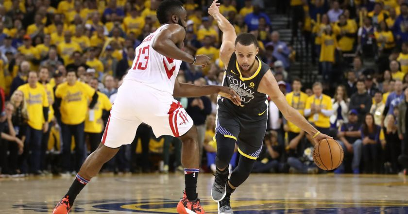Game 4 Rockets vs Warriors