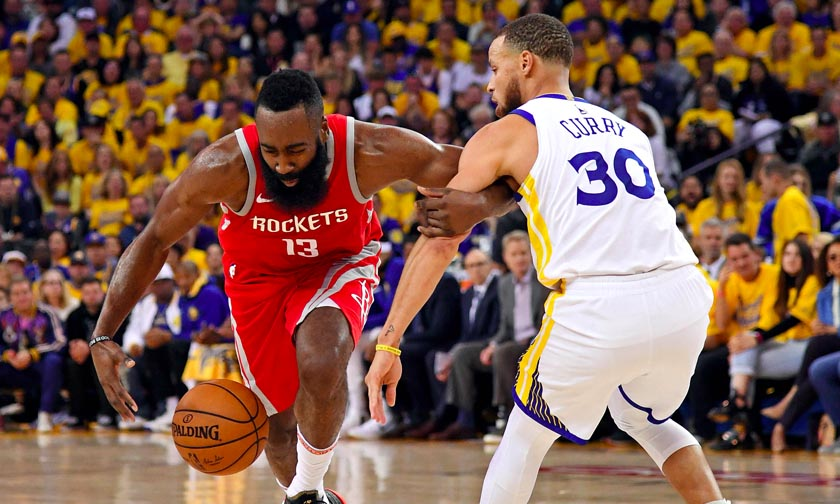 Harden vs Curry