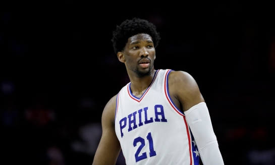 Joel Embiid Philly
