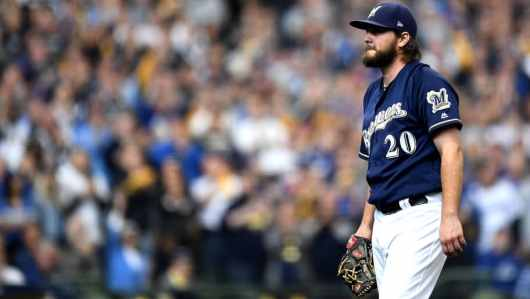 Wade Miley Brewers Game 5